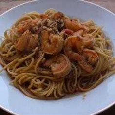 Yummy shrimp are baked in a spicy, buttery, bacon sauce with a hint of dijon mustard. serve this as an appetizer or over pasta for an elegant meal.