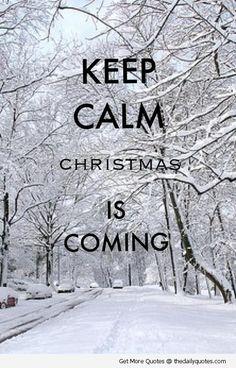Christmas is Coming !!!!! impossible de rester calme (moi en tous cas)