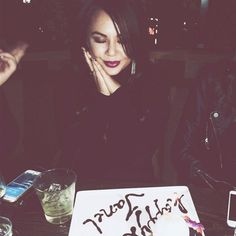 Janel Parrish from Celebrity Birthday Bashes!  The Pretty Little Liars star celebrates her 27th birthdayat the Sunset Strip hotspot Maia with her girlfriends.
