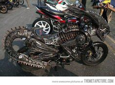 even I want this! -alien bike
