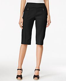Style & Co. Pull-On Skimmer Shorts, Only at Macy's