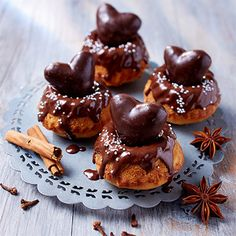 Die Kleinigkeit für das Weihnachtskaffeetrinken - Mini Lebkuchen Gugelhupf mit Bahlsen Akora #LifeIsSweet #Rezept #Dessert #Kuchen #Bahlsen
