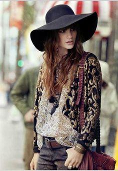 les 125 meilleures images du tableau style hippie femme sur pinterest boho chic boho fashion. Black Bedroom Furniture Sets. Home Design Ideas