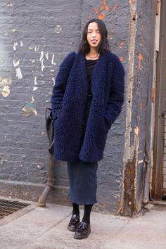 XIAO WEN JU, NEW YORK - MELODIE JENG   (via On the Street: NYFW Day 3 - Of The Minute)