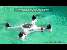 "The New ""MARINER"", Waterproof DRONE.. First water test flights in St Maarten, SXM, CARIBBEAN! - YouTube"