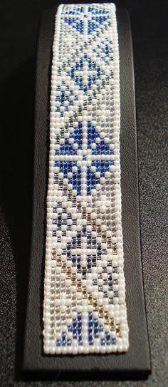 Bunad, Smykker, vev & rosemaling: Samisk-inspirert armbånd