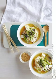 Vous pouvez varier les nouilles : udon, spaghettis, ramen etc...
