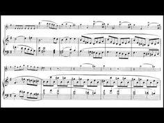 Paganini, Violin Sonata Op.3, No.6, in E minor. [Sheet Music] - YouTube