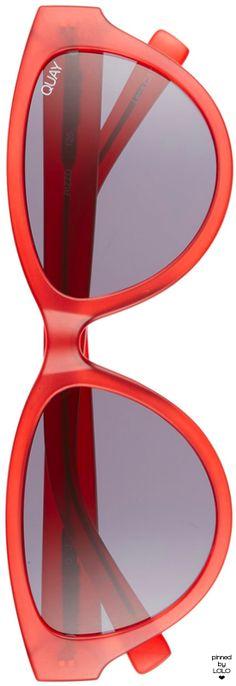 275b5e7b37897 Quay Australia Rizzo 55mm Cat Eye Sunglasses  quay  sunglasses