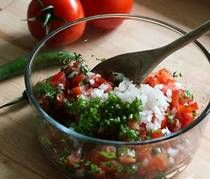 "salsa - I do believe this is the ultimate ""fresh"" salsa recipe"