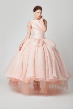 Why not try a modern reimagining of a Princess Peach gown?