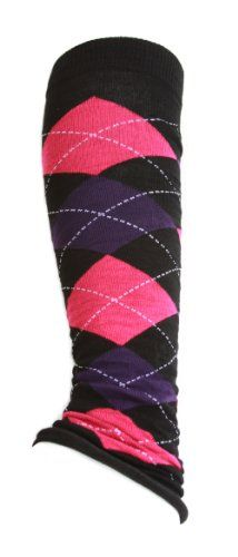 Clover Women's Stretch Leg Warmers - Argyle - Purple and Hot Pink ** More info could be found at the image url. Down Parka, Women's Socks & Hosiery, Leg Warmers, Best Sellers, Stretches, Hot Pink, Style Me, Purple, Clothes