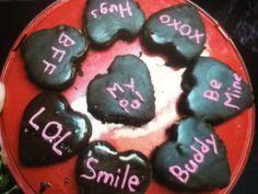 brownies for my daughter's pre-k/kindergarten class valentine's party