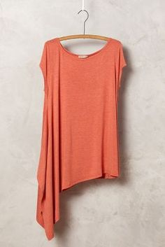 Sloped Jersey Tunic