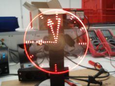 My propeller clock  + Source