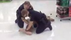 WATCH: SC police beat man in Walmart as horrified shoppers beg officers to stop