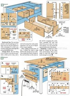 Power Tool Workbench Plans - Workshop Solutions