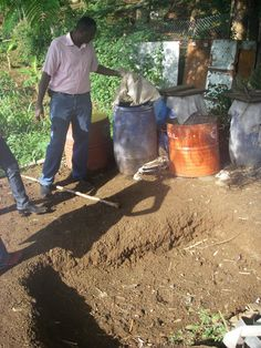 How to Make a Compost Pit (as opposed to a compost pile).