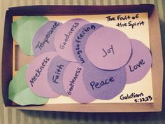Children's Bible Lessons: Lesson - The Fruit Of The Spirit