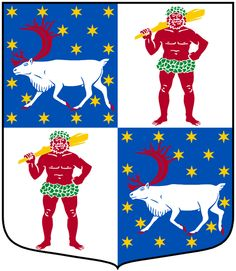 Coat of arms of the county of Norrbotten, Sweden