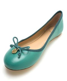 Another great find on #zulily! Tory Burch Jade Leather Chelsea Ballet Flat by Tory Burch #zulilyfinds