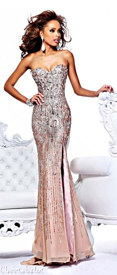 Sherri Hill makes me want to re-do prom or just have a reason to purchase and wear her dresses.