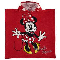 Disney Minnie Mouse Hooded Poncho Towel