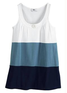Stylish Tops, Trendy Tops, Kurti Neck Designs, Blouse Designs, Color Blocking Outfits, Casual Dresses For Teens, Blouse Models, Work Tops, Beautiful Blouses