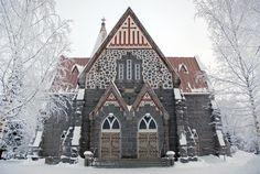 Alahärmä kyrka, Finl