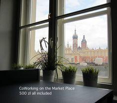 Rynek Główny zaprasza na Coworking. Nowoczesny sposób na wygodną pracę biurową bez konieczności wynajmowania biura. Coworking Rynek Główny 28