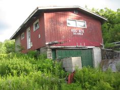 On Route 9 in Vermont - Abandoned Hogback Ski Area.