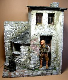 Miniature Rooms, Miniature Houses, Chicago Museums, Yellow Tree, Stone Cottages, Xmax, Storybook Cottage, Fairy Garden Houses, Ceramic Houses