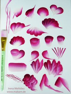 What is Your Painting Style? How do you find your own painting style? What is your painting style? One Stroke Painting, Tole Painting, Fabric Painting, Painting & Drawing, Painting Flowers, Drawing Flowers, Donna Dewberry Painting, Flower Drawing Tutorials, One Stroke Nails