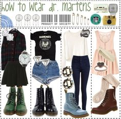How to wear Dr. Martens
