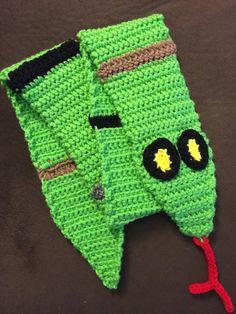 Snake Scarf by AmysCraftingCorner1 on Etsy