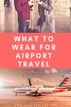 10 things to consider for travel wear when youre on an airplane. These travel tips for women help you think about the perfect airport outfits to stay comfy on the plane. Whether youre embarking on international travel or staying domestic, including these tips will save you time and effort when planning! #airporttravel #airportfashion #traveltips #worldtravel #airplanes