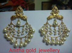 Fancy Jewellery, Trendy Jewelry, Jewelry Gifts, Gold Wedding Jewelry, Bridal Jewelry, Gold Jewelry, Pearl Jewelry, Pearl Necklace, Ear Cuff Jewelry