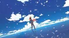 Your Lie in April (四月は君の嘘) - My favorite part of the opening <3