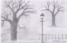 pencil landscape drawing easy drawings sketches sketch shading beginners landscapes nature pdf scenery winter google paintingvalley chainimage projects yahoo