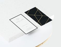 Identity work for Atelier, an Interior Design Studio based in Cape Town. The project included a logo, secondary logo elements, stationary set, social media elements and business card production.