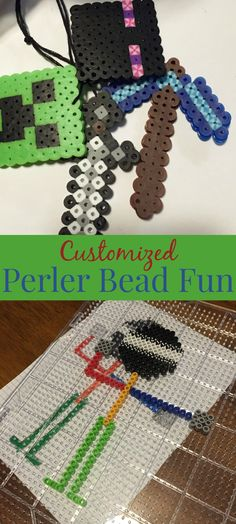 Twitchetts. Create custom perler bead templates. Fun diy. Perfect indoor activity.
