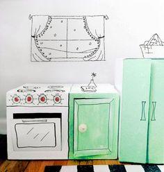 mommo design: CARDBOARD FUN