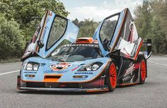 Top Gear's 1997 McLaren F1 GTR Longtail.