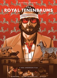 #49 The Royal Tenenbaums -No one makes a prettier movie than Wes Anderson..So funny too!