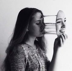 Photography portrait artistic double exposure 25 new Ideas Surrealism Photography, Conceptual Photography, Dark Photography, Creative Photography, Black And White Photography, Portrait Photography, Photography Women, Emotional Photography, Photography Outfits
