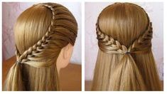 HAIR Tutorial: how to do quick & easy, side bun hairstyles for everyday, prom & wedding. Two cute updo hairstyles for long or medium hair. Girl Hairstyles, Braided Hairstyles, Wedding Hairstyles, College Hairstyles, Hairstyle Braid, Amazing Hairstyles, Short Hair Cuts, Short Hair Styles, Hair Dos