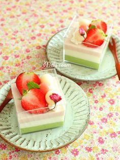 ひな祭り☆カップでやわらかショートケーキ