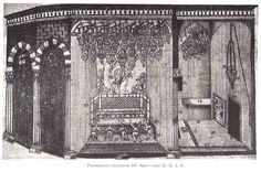 Jérusalem Saint-Sépulcre Elzear Horn Ichonographiae Monumentorum Terrae Sanctae,1724/ 44 — Prospectus Interior SS. Sepulchre D. N. J. C.