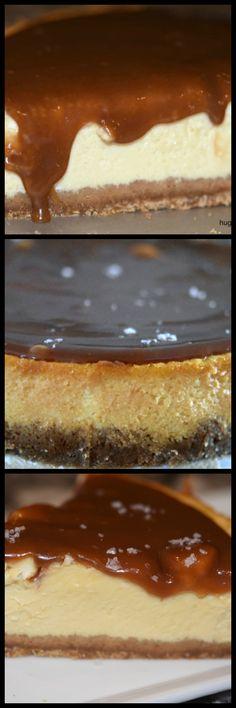 Caramel Eggnog Cheesecake