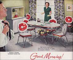 1950 Kuehne Dinette by American Vintage Home, via Flickr